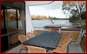 Outdoor Area - Houseboat Hire, Riverland Houseboats, River Murray Houseboasts, Riverland Houseboats Loxton, Kiwi-Oz