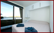 Master Bedroom - Houseboat Hire, Riverland Houseboats, River Murray Houseboasts, Riverland Houseboats Loxton, Kiwi-Oz
